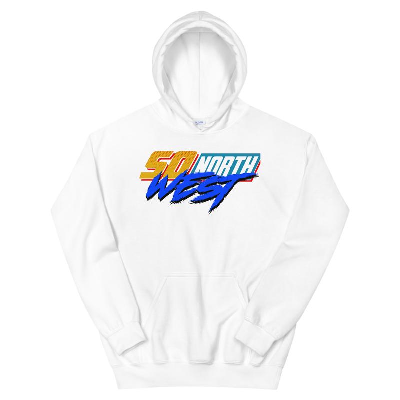 So North West Nascar logo Unisex Hoodie
