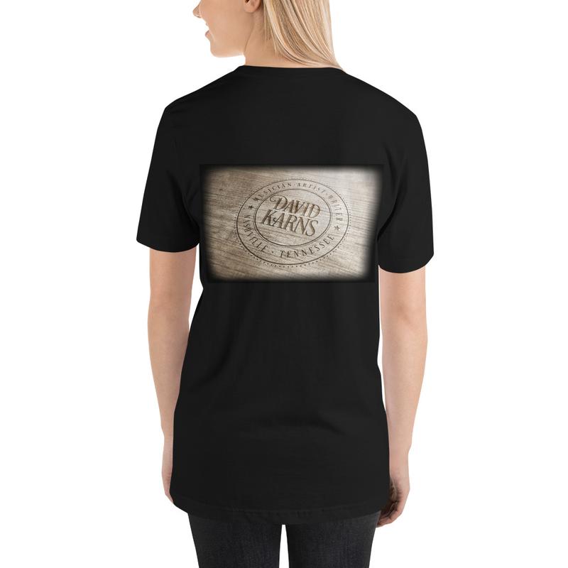 Short-Sleeve Unisex T-Shirt - Wood Logo