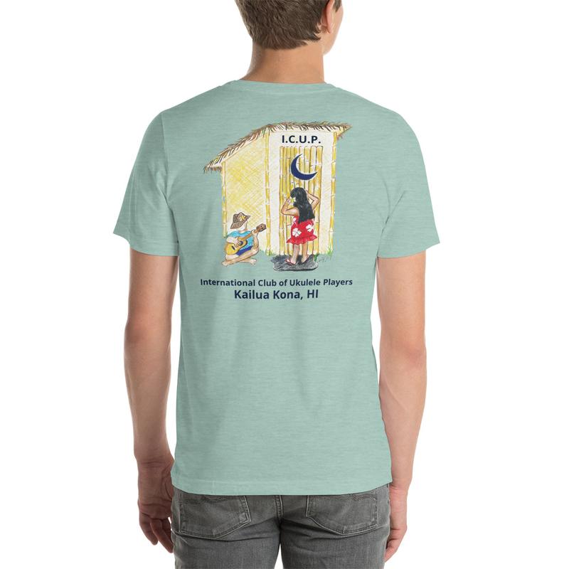 Short-Sleeve Unisex T-Shirt-Heather Pastel
