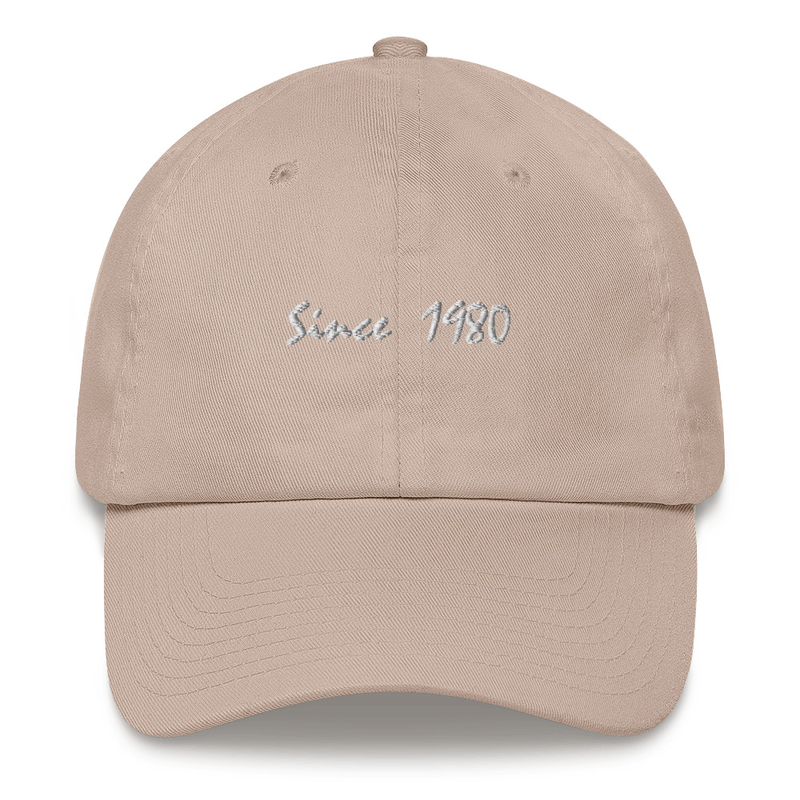 Since 1980 Dad hat