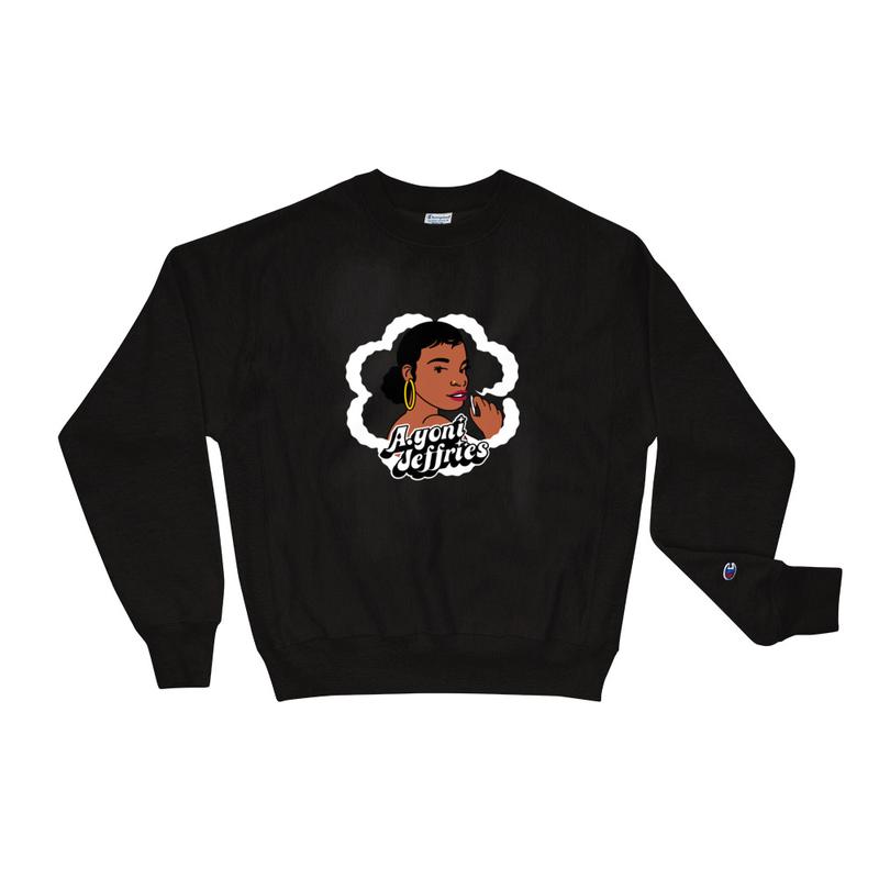 AJ Smoke Flower Champion Sweatshirt