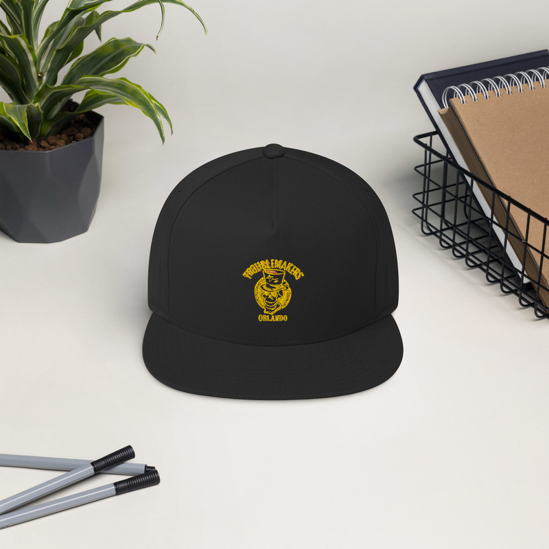 Trouble  Maker Flat Bill Cap