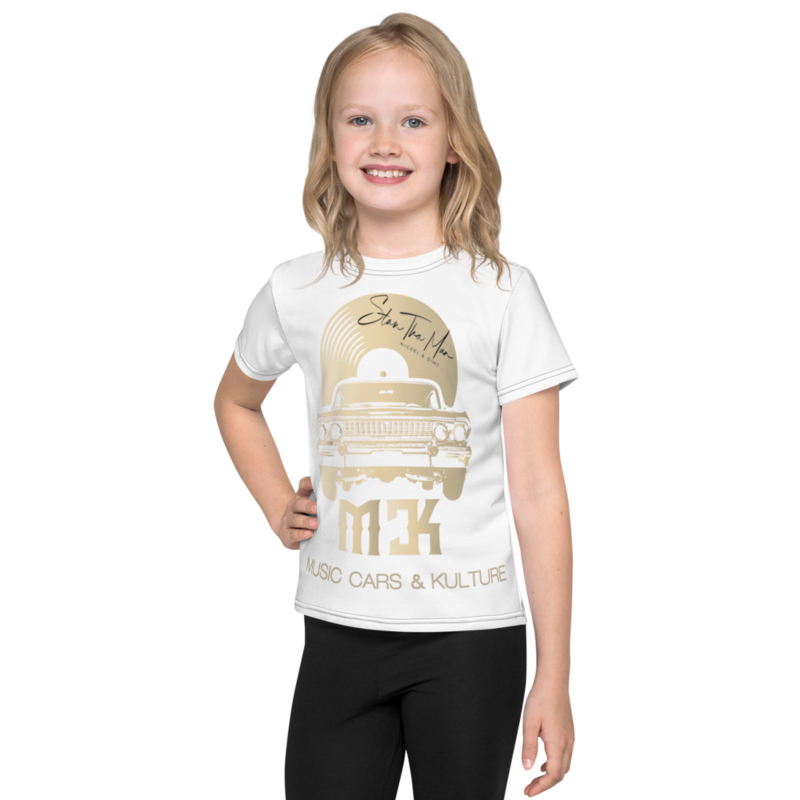 MCK...Kids crew neck t-shirt