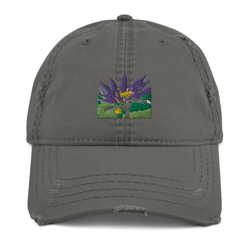 Lotus1 - Distressed Hat