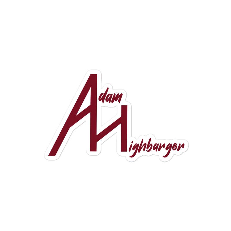Adam Highbarger Sticker