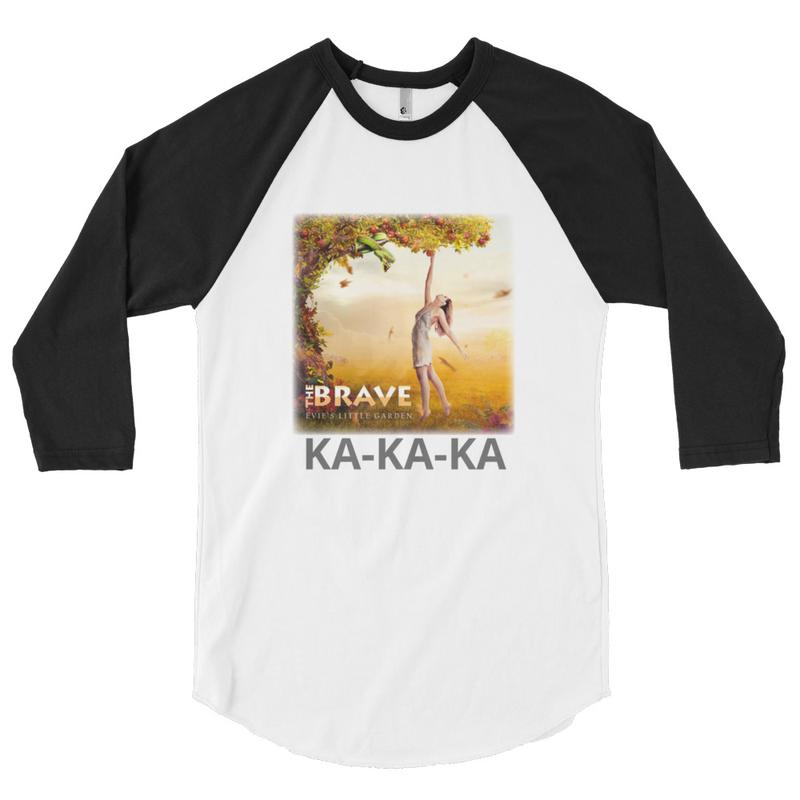 EVIE'S KA-KA-KA BASEBALL TEE