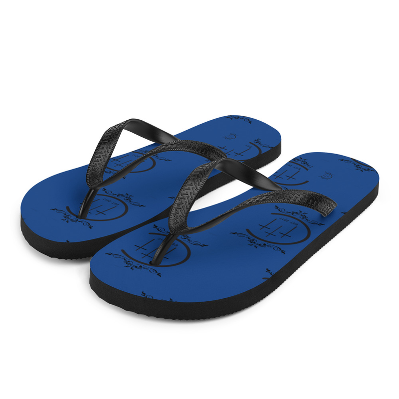 Chuuch-Flops (cerulean blue)