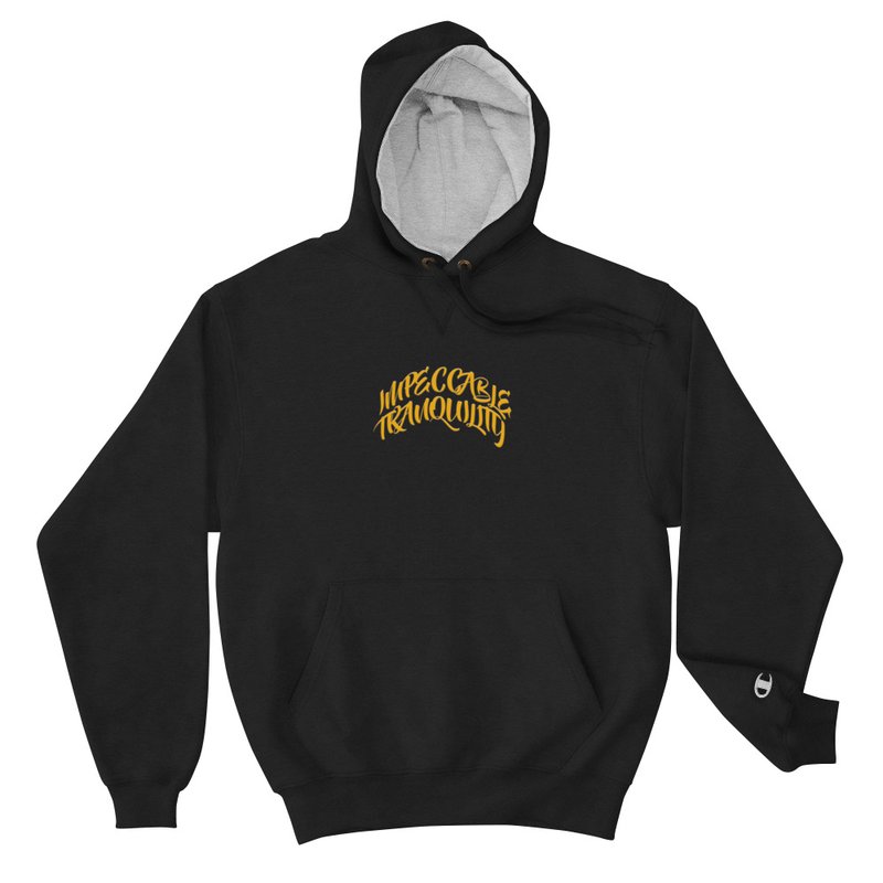 Impeccable Tranquility Champion Hoodie