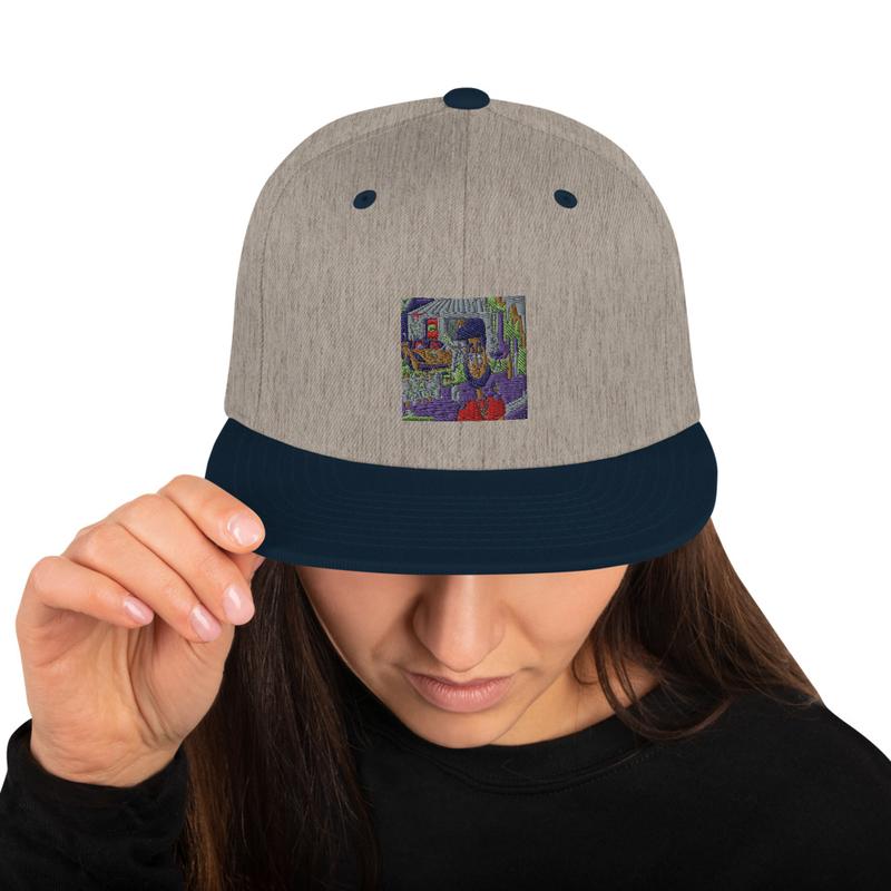 RBT Artwork Snapback Hat