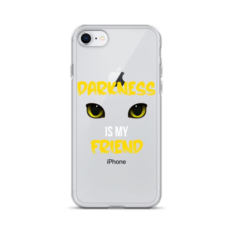 Darkness is My Friend iPhone Case