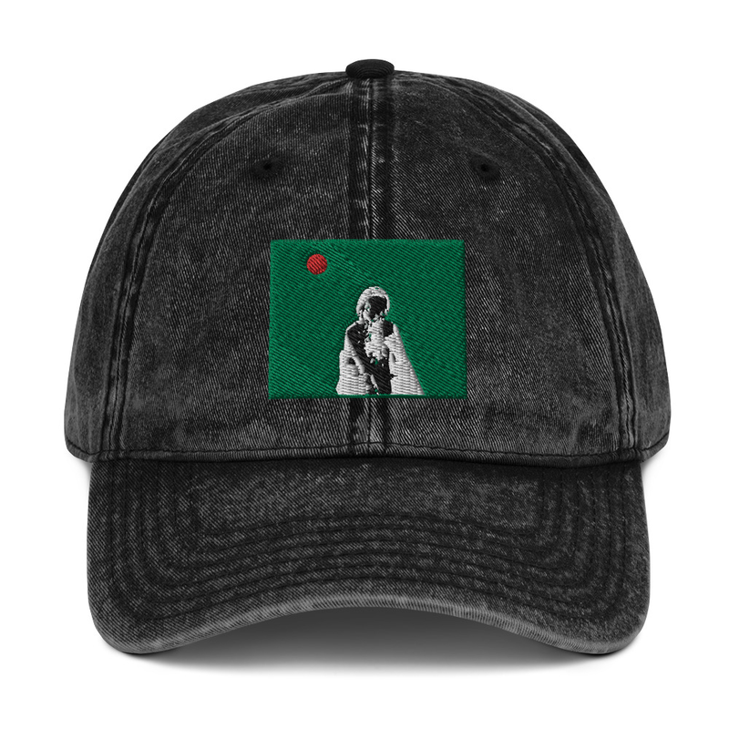 Vintage Cotton Twill Cap (Will Phåråoh - Green Sky)