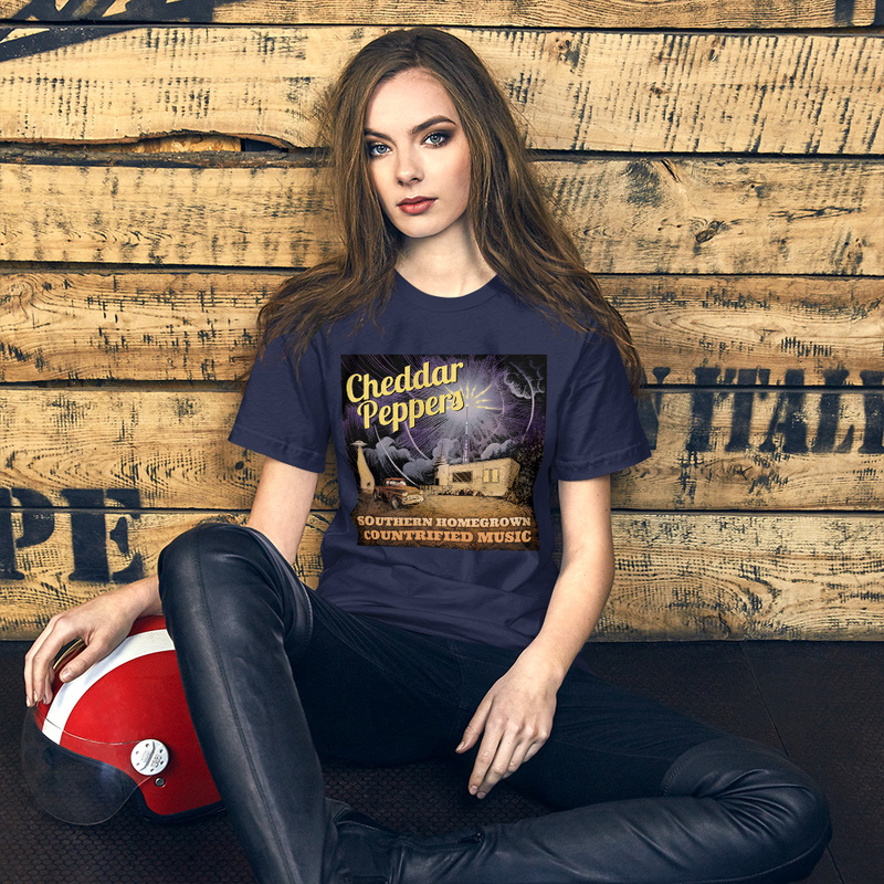 Cheddar Peppers Short-Sleeve Unisex T-Shirt