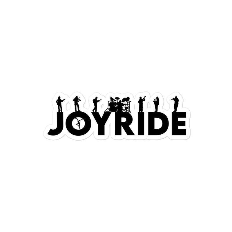 JOYRIDE Bubble-free stickers