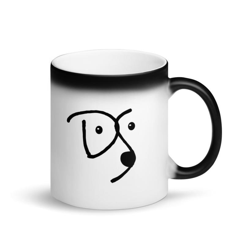 Dogue Shop Matte Black Magic Mug