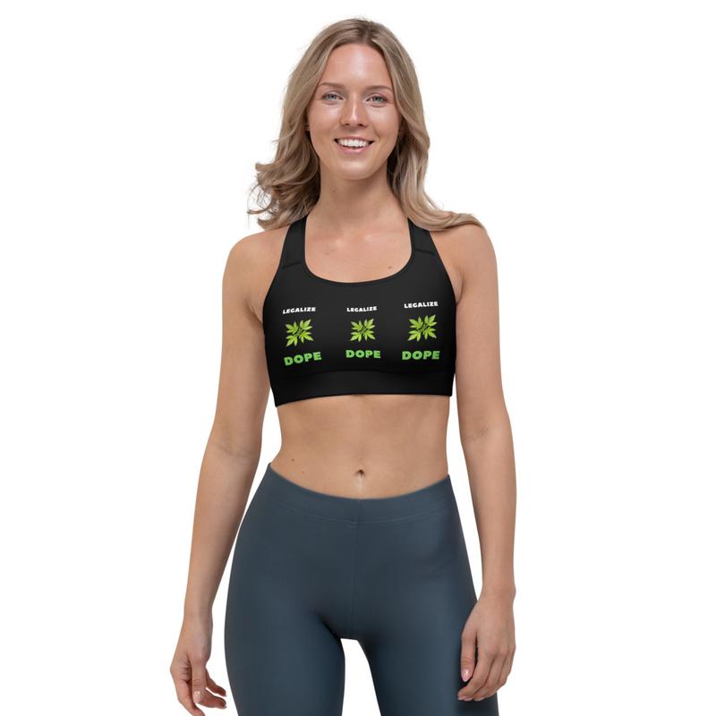 Legalized Dope Sports bra