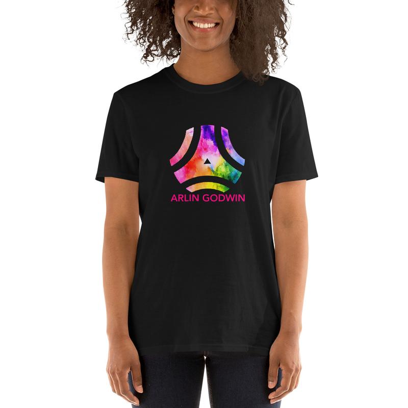 AG Logo on a Short-Sleeve Unisex T-Shirt