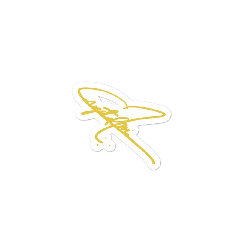 Bubble-free Sticker - Signature