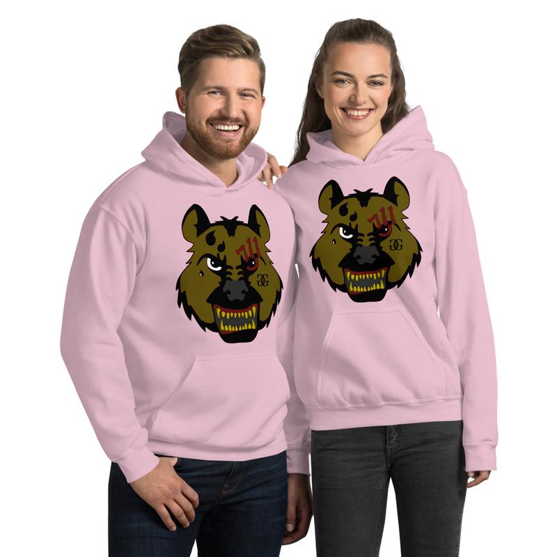 Hyena Gang Gold Unisex Hoodie
