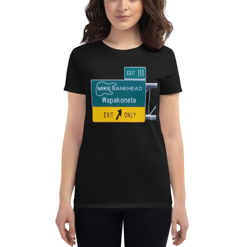 Ladies cut Wapakoneta T-Shirt