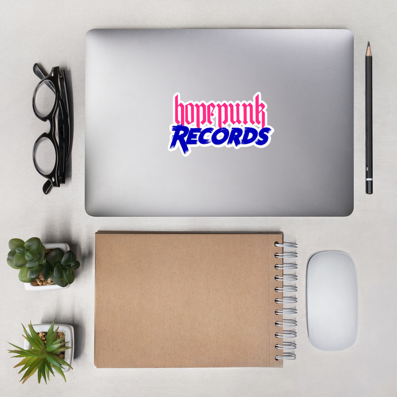 Bubble-free stickers - HPR Logo