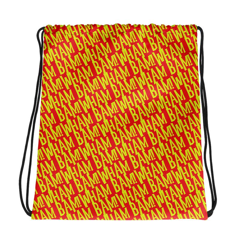 Drawstring bag - WHAM BAM!