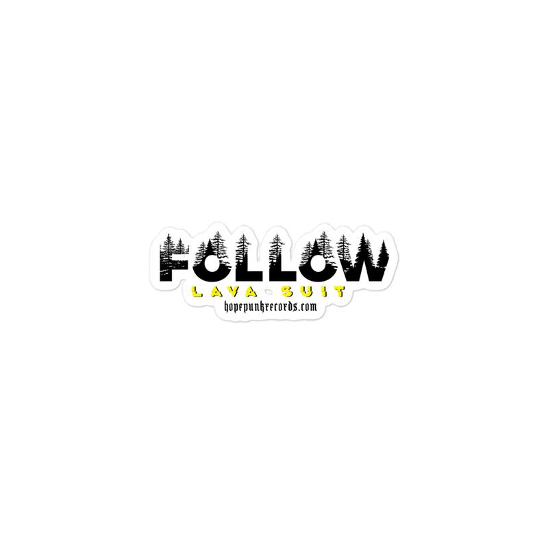 Bubble-free stickers - LAVA SUIT