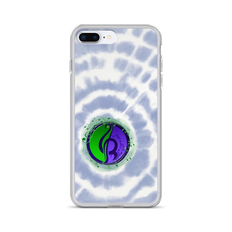 iPhone Tie Dye Logo Case Blue