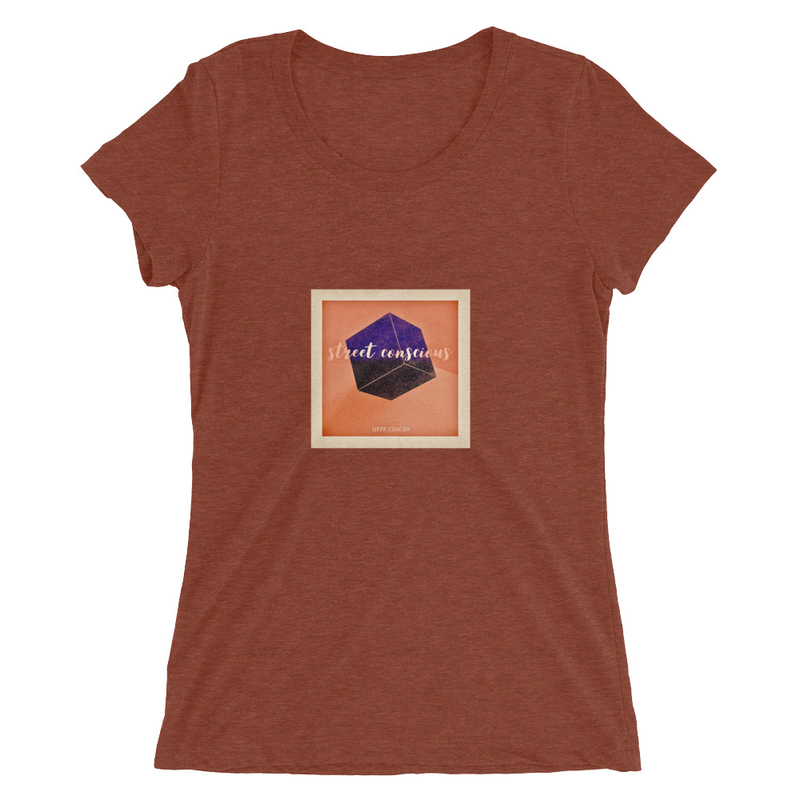 Ladies' short sleeve t-shirt (Hype Clouds - Street Conscious)