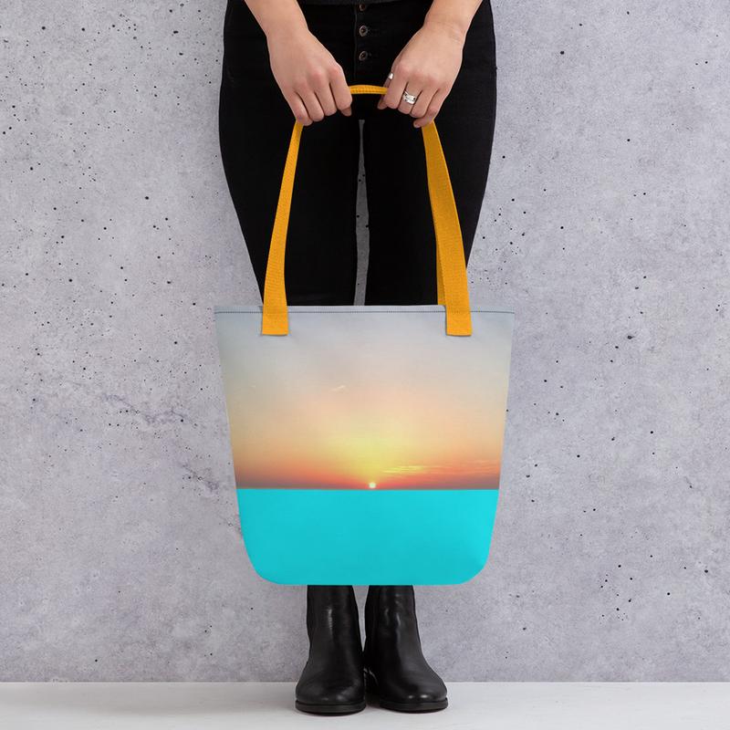 Aerial Tote bag (no name/title printing)