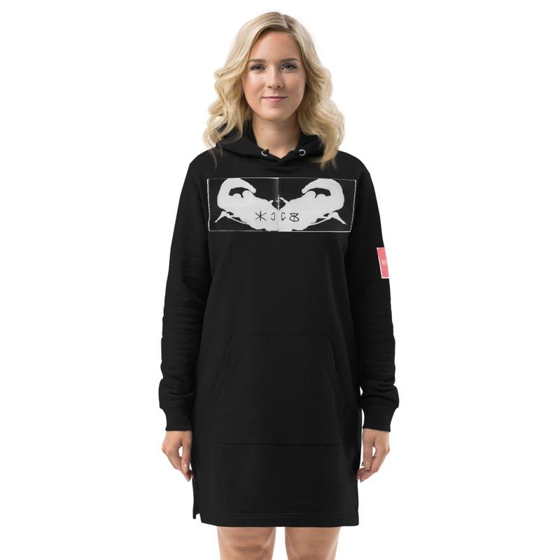 KKCCBB Rorschach Hoodie dress