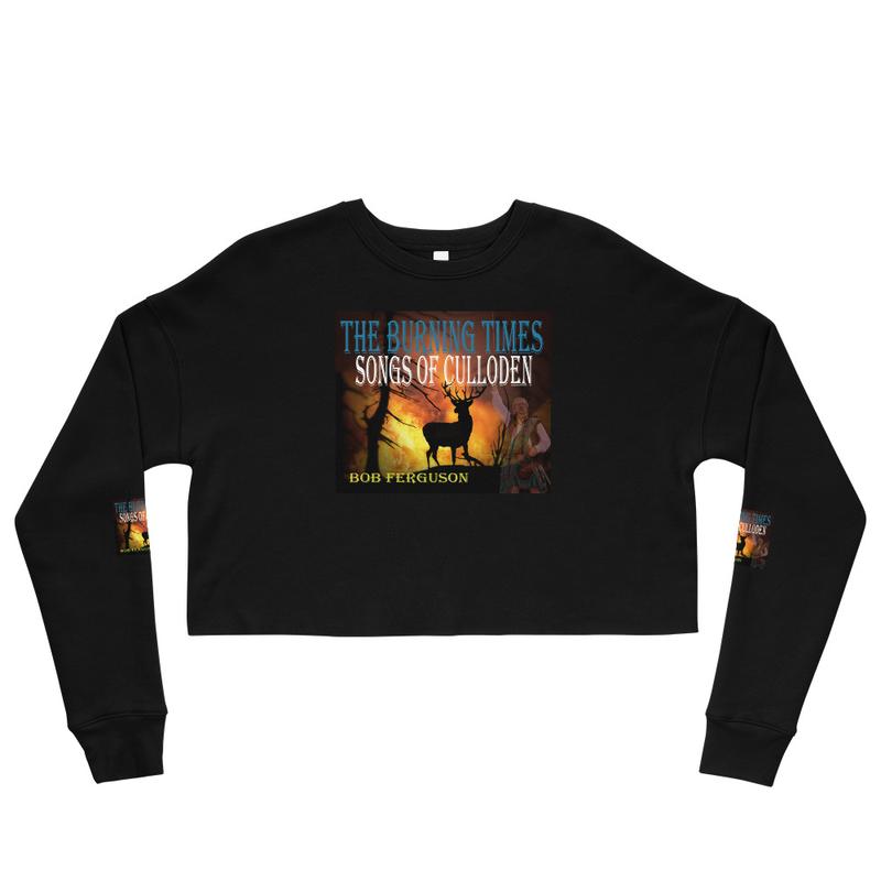 Crop Sweatshirt - The Burning Times