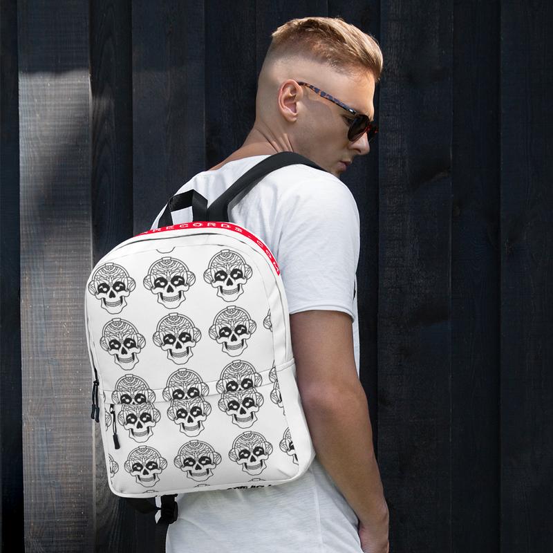 Backpack - Skull Pattern