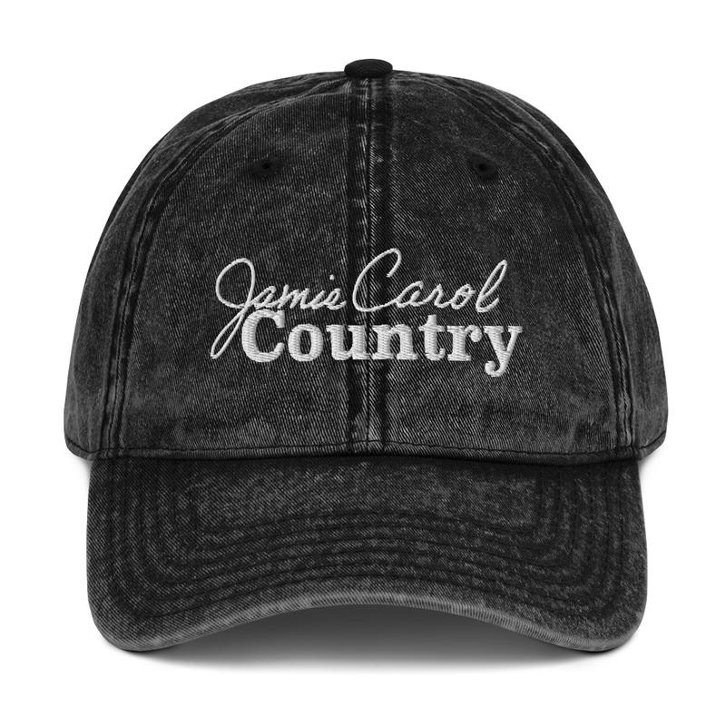 Vintage Cotton Cap (Black)