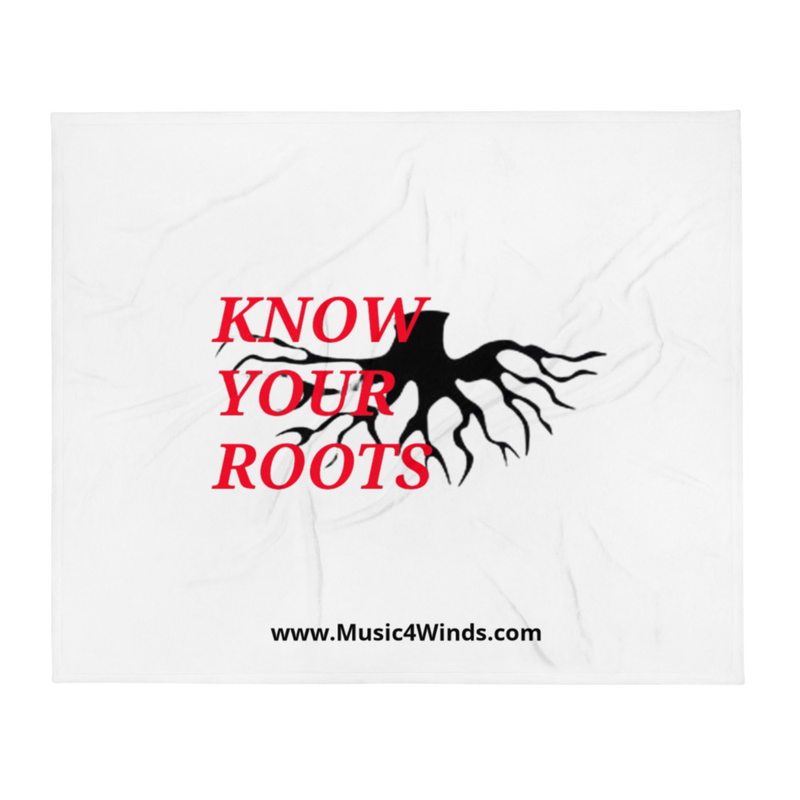 Know Your Roots - Throw Blanket