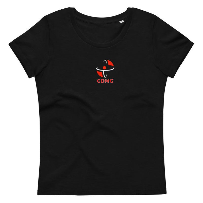 CDMG Custom Women's fitted eco tee