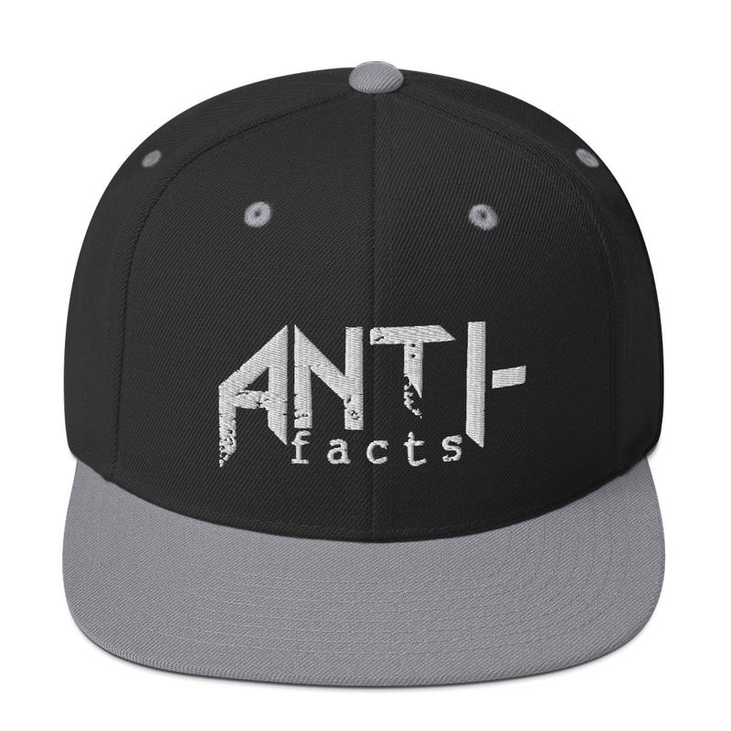 Anti-facts Snapback Hat