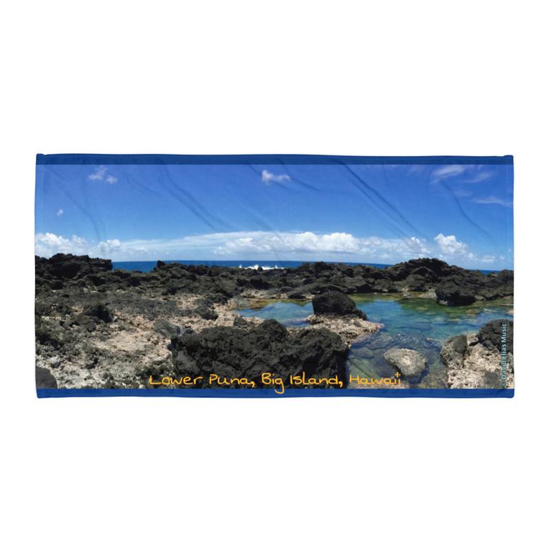 Lower Puna Coast - Beach Towel