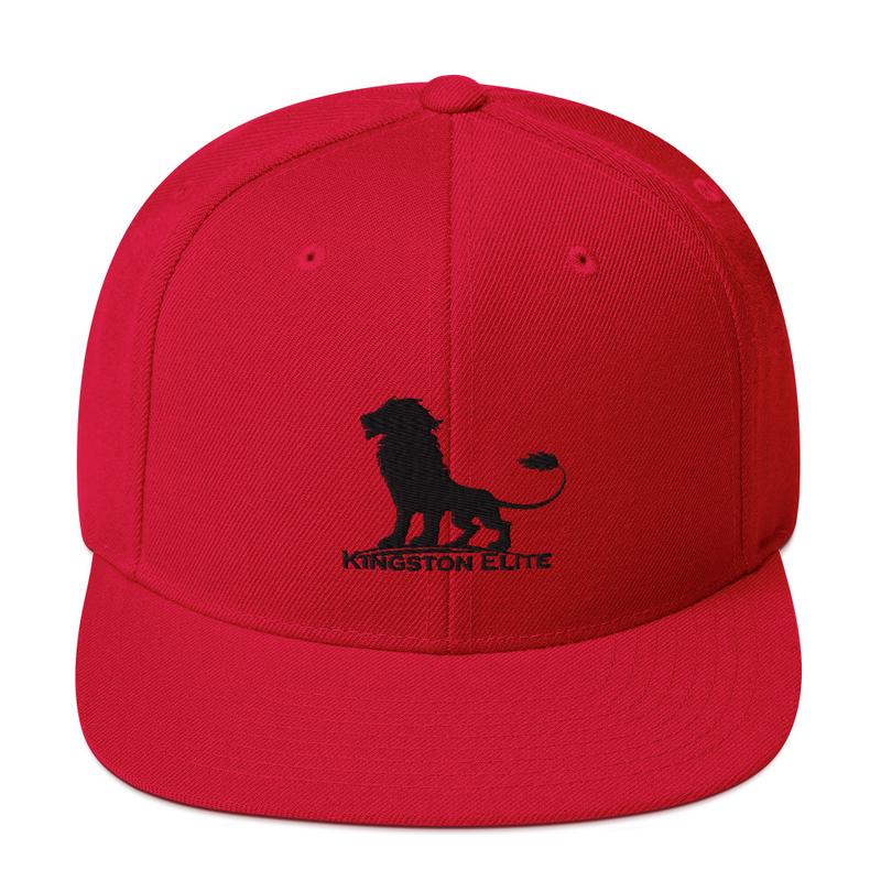 Kingston Elite Snapback Hat Red