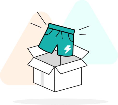sell shorts illustration