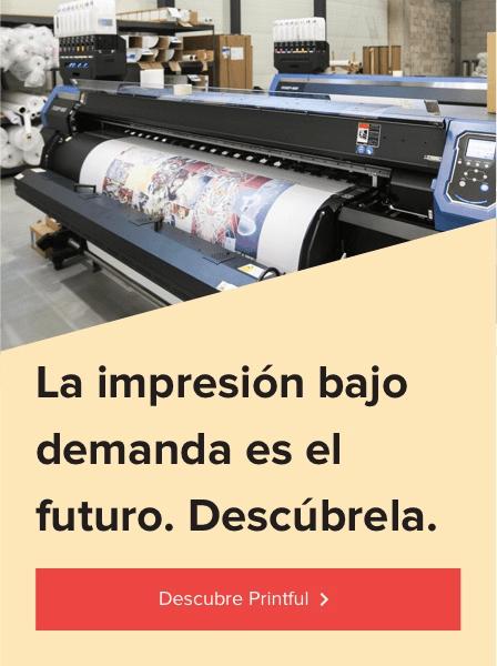Descubre Printful banner