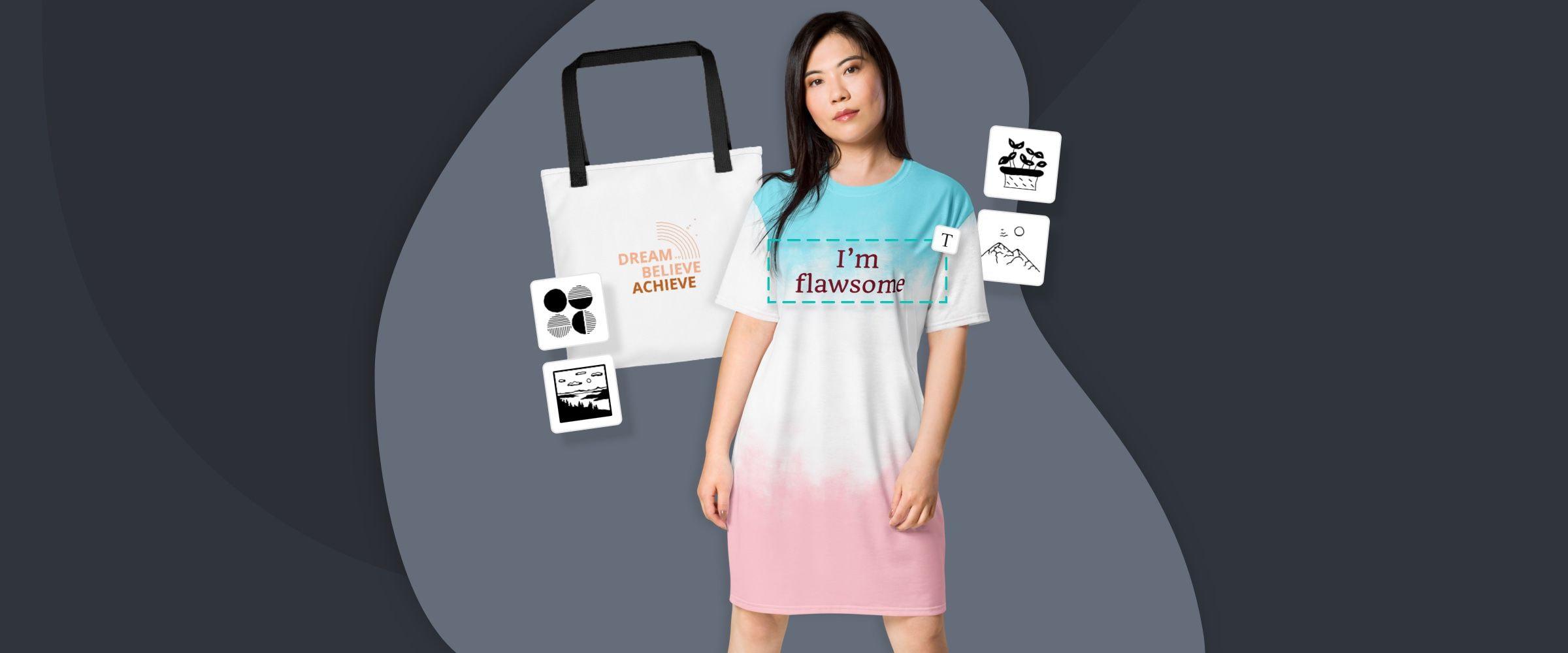 custom printed merchandise on demand
