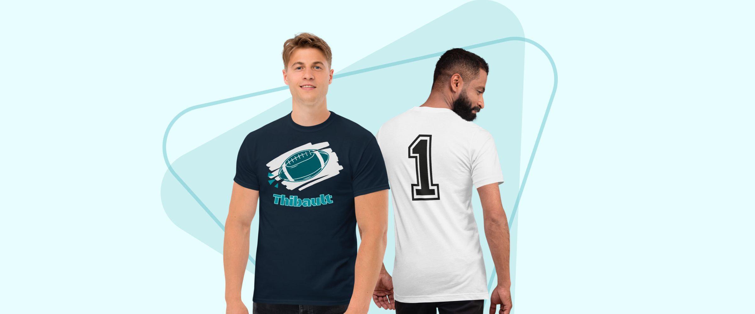 créer un maillot personnalisé