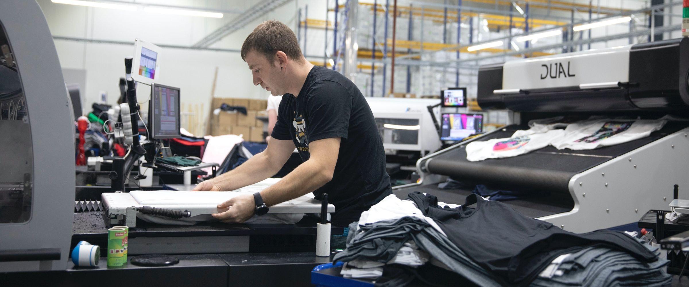 personalización de productos printful