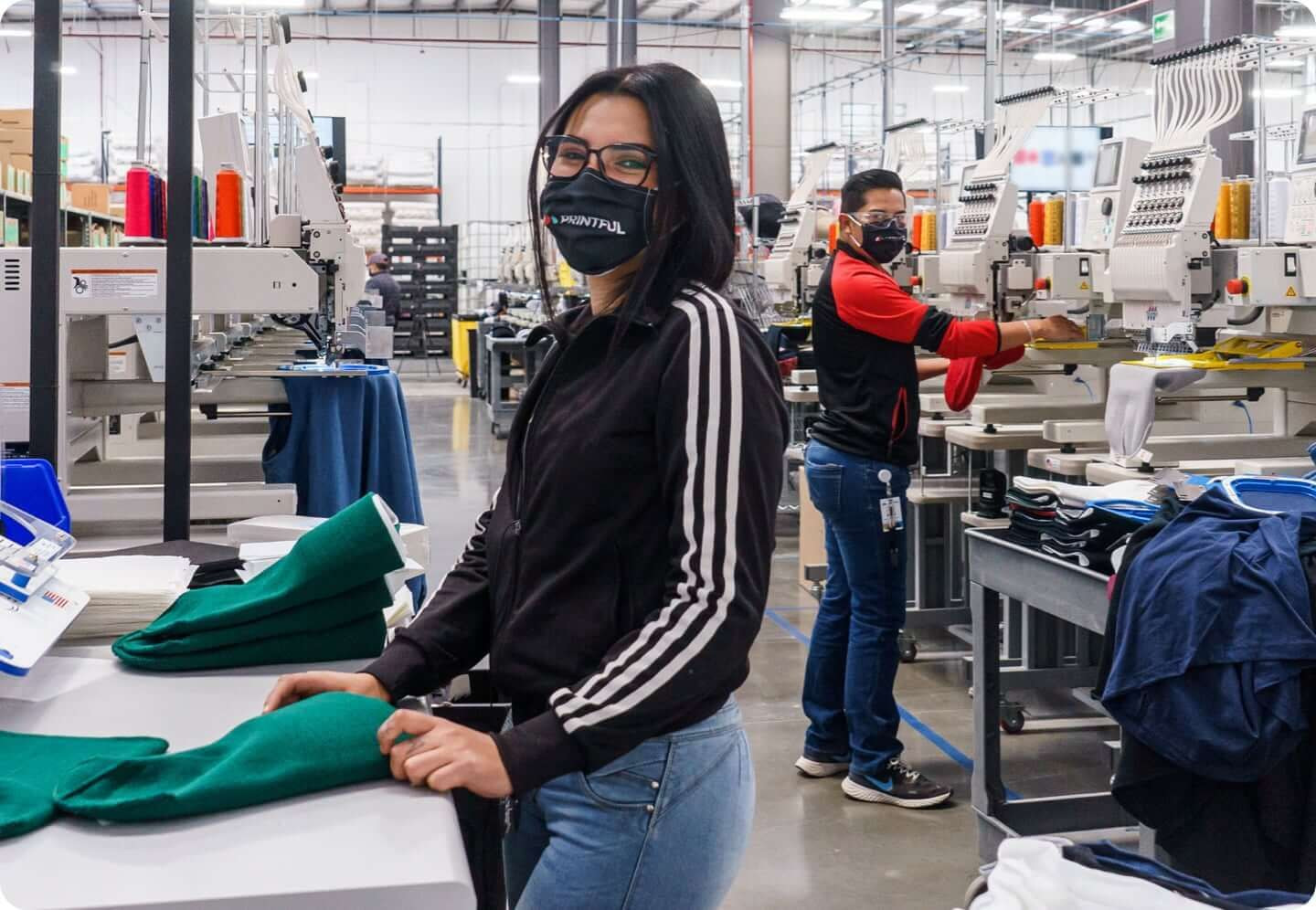 fulfillment expert in a facility