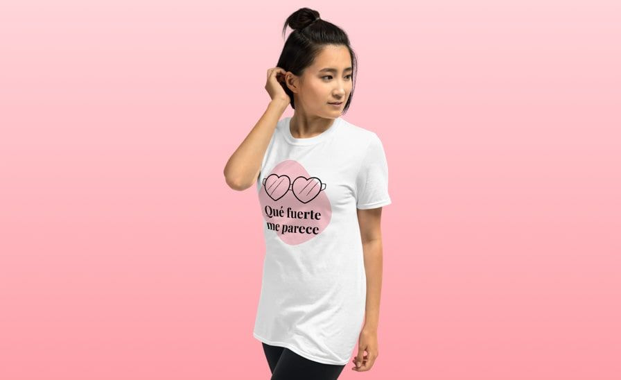 Camisetas con mensaje para mujer