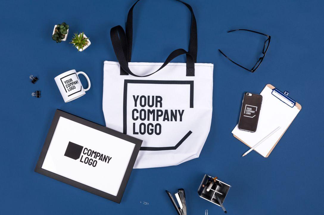 Accesorios con logo personalizado