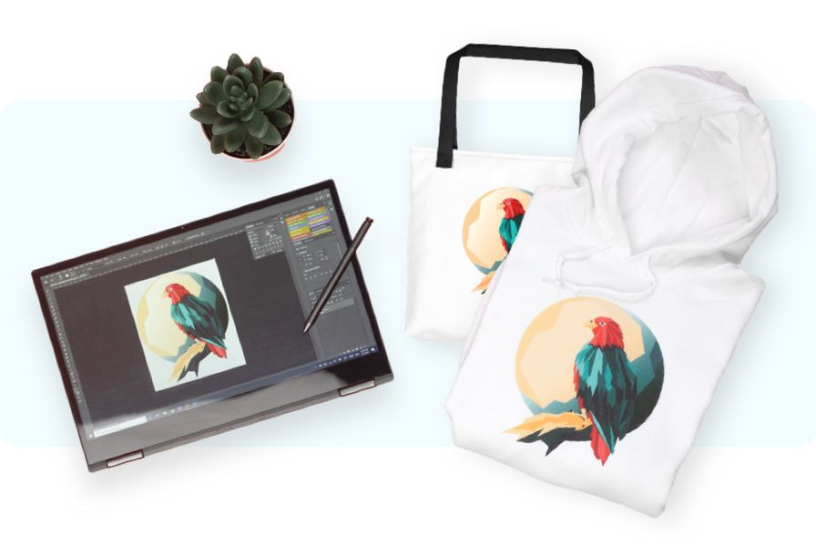 print your artwork on products