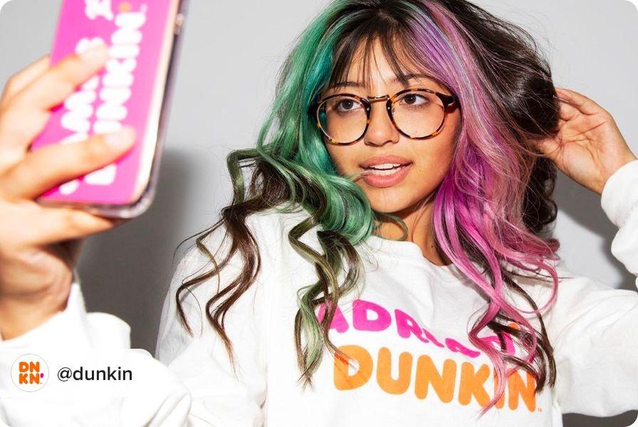 dunkin donuts merch