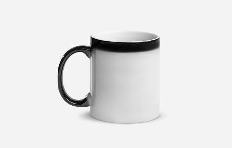 custom black magic mug