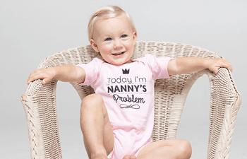 Bodies bébé personnalisés